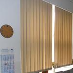 Lamellenvorhänge im Büro